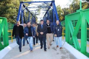 Inauguração Ponte