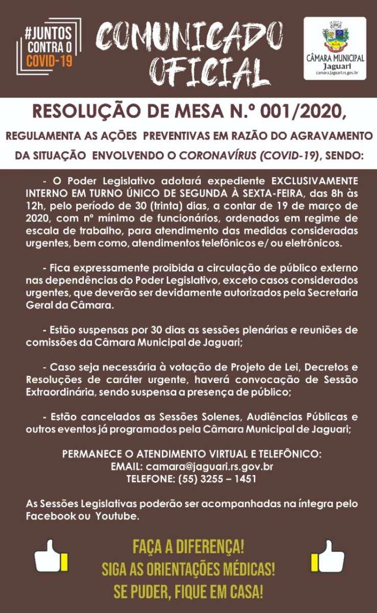 Notícia sobre CÂMARA MUNICIPAL ADOTA NOVAS MEDIDAS PREVENTIVAS CONTRA O COVID – 19