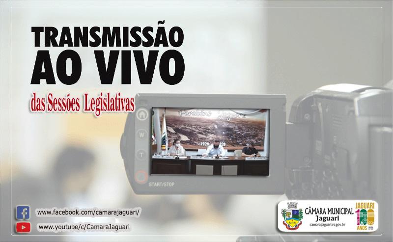 Notícia sobre ACOMPANHE AO VIVO ÀS SESSÕES LEGISLATIVAS DA CÂMARA MUNICIPAL DE JAGUARI