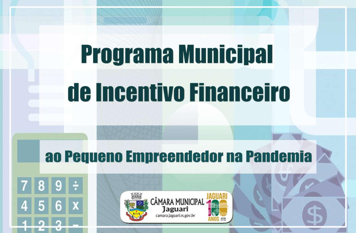 Notícia sobre CÂMARA MUNICIPAL DE JAGUARI APROVA INCENTIVO FINANCEIRO AO PEQUENO EMPREENDEDOR